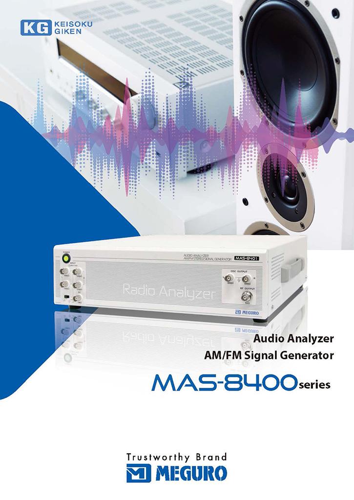 MAS-8400 series Audio Analyzer