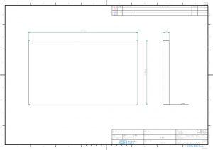 ブランクパネル外観図PDF