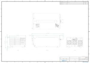 WS-1080B外観図PDF
